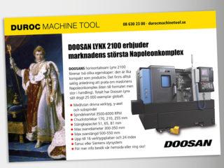 Duroc Machine Tool annonser