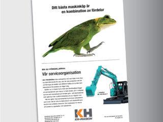 KH Maskin annonser